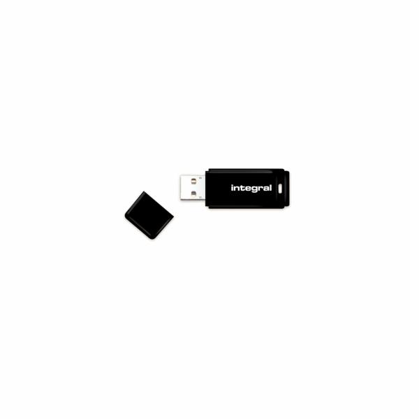 INTEGRAL USB flash disk USB 2.0 16GB s odnímatelným krytem černá