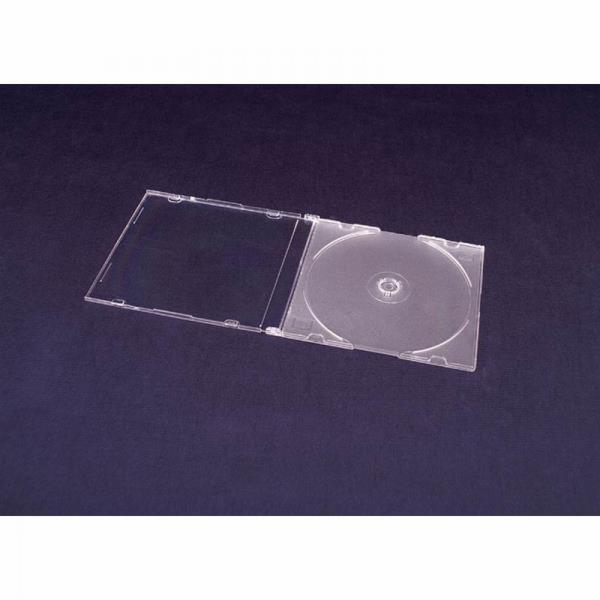 Esperanza Plastové krabičky na 1 CD/DVD | 200 ks, transparentní matné