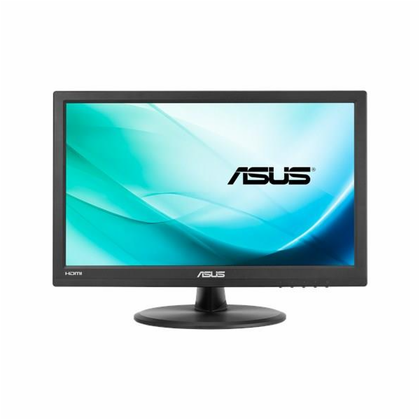 """ASUS VT168H 15.6"""" Monitor, 1366x768, TN, 10-point Touch Monitor, HDMI, Flicker free, Low Blue Light, TUV certified"""