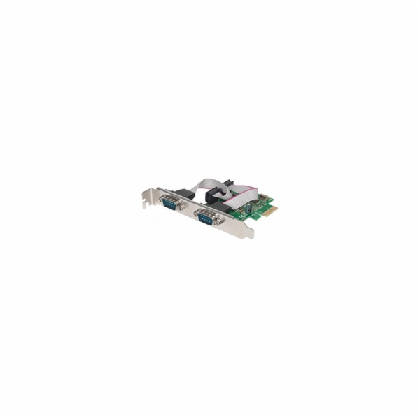 Manhattan Serial PCI Express Card 2xRS-232