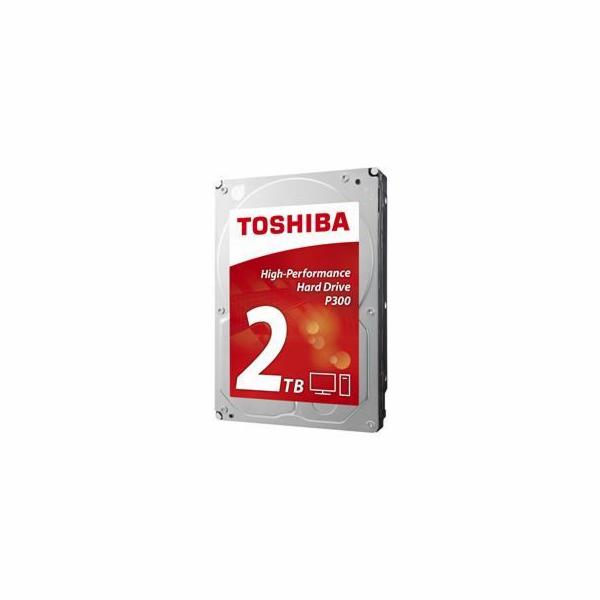 "TOSHIBA HDD P300 2TB, SATA III, 7200 rpm, 64MB cache, 3,5"", BULK"
