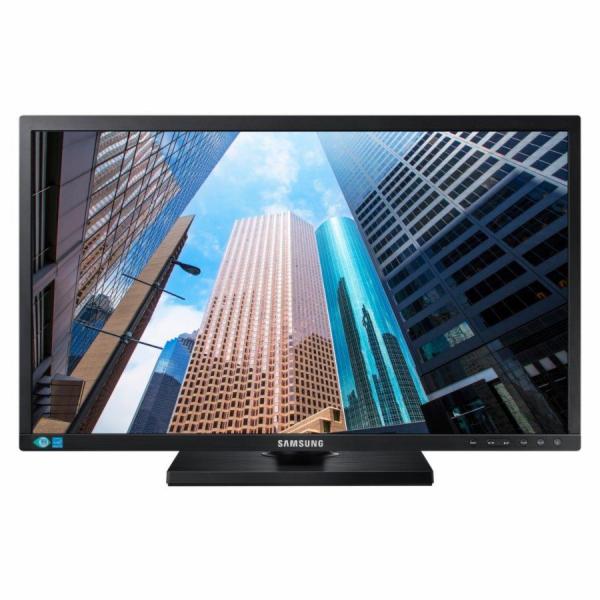 """SAMSUNG MT LED LCD 24"""" S24E650X - plochý, PLS, 1920x1200 (16:10), 4ms, display port, DVI, USB"""