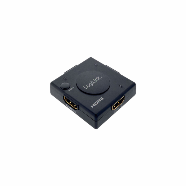 LOGILINK - Mini HDMI switch se zesilovačem