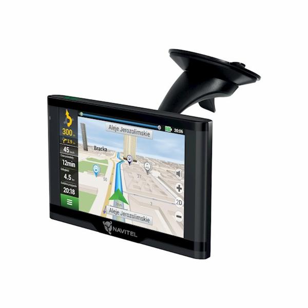 "NAVITEL GPS navigace do auta E500 Magnetic/ 5"" displej/ rozlišení 800 x 480/ mini USB + magnetický držák"