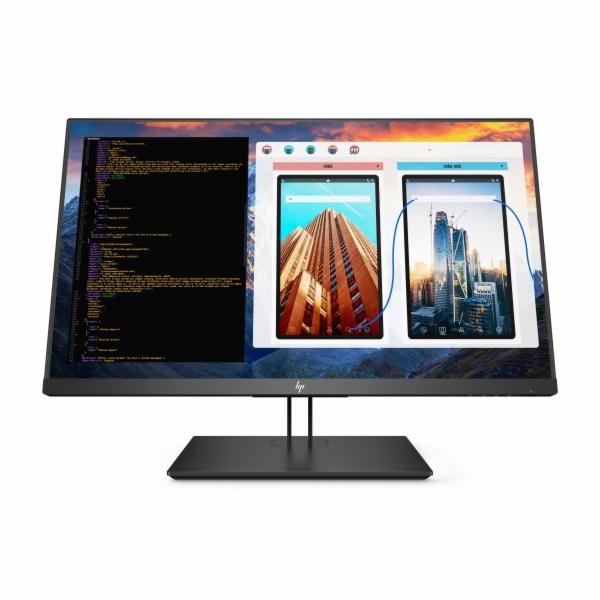 HP Z27 27'' IPS UHD (3840x2160)/350cd/8ms/1300:1/DP,mDP,USB-C,USB/ 3/3/3