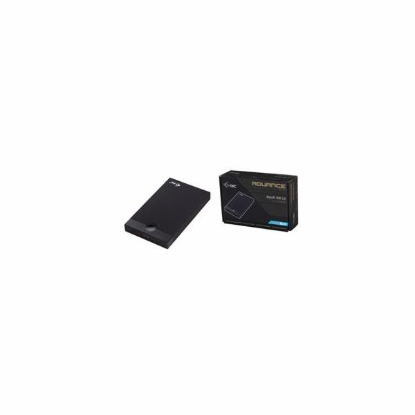 i-tec MYSAFE Advance 2.5'' USB 3.0 externí box pro HDD, hliníkový
