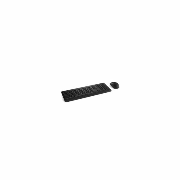 Microsoft Desktop Wireless 900, CZ/SK, Black