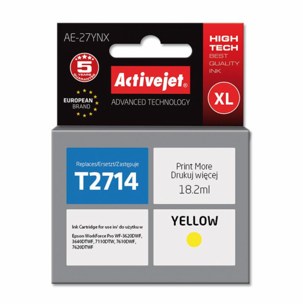 ActiveJet ink Epson T2714 new AE-27YNX 18 ml