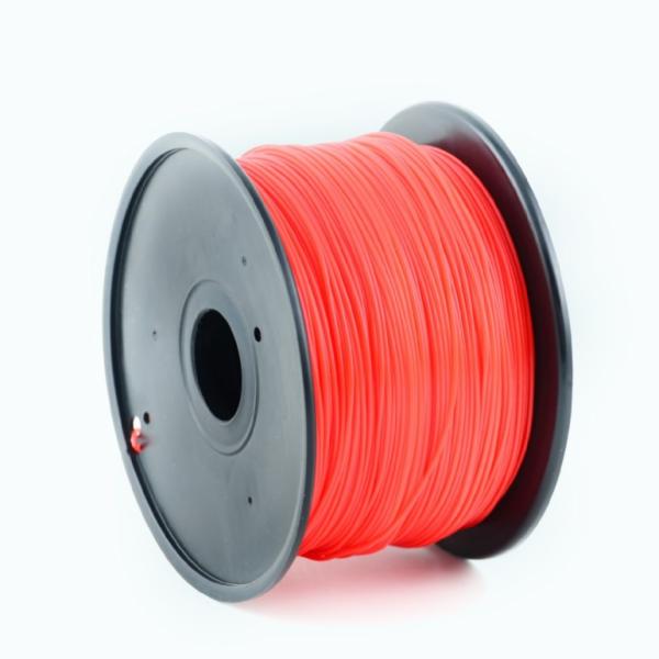 Tisková struna Gembird HIPS červená | 1,75mm | 1kg