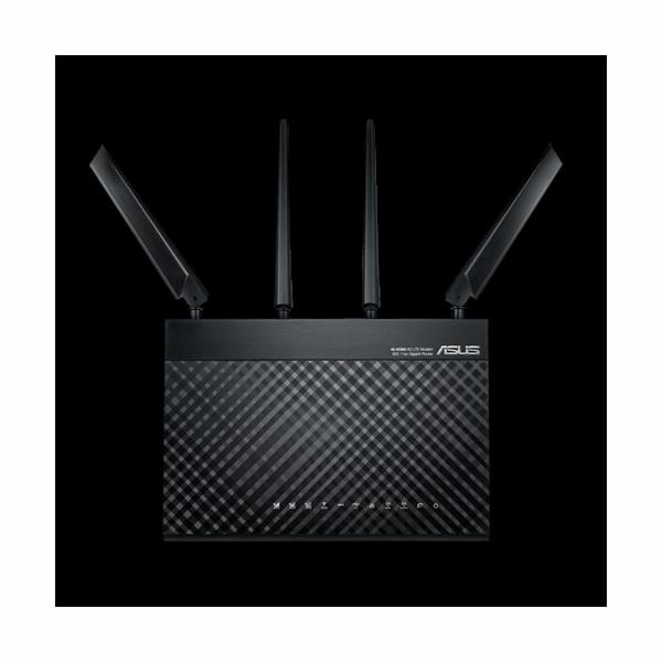ASUS 4G-AC68U, AC1900 dvoupásmový LTE Wi-Fi modemový Router s rodičovským zámkem a funkcí hostující sítě