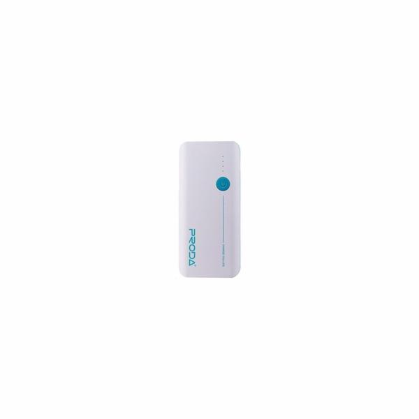 REMAX PowerBank Proda 20000 mAh, bez display, bílo - modrá barva EXCLUSIVE