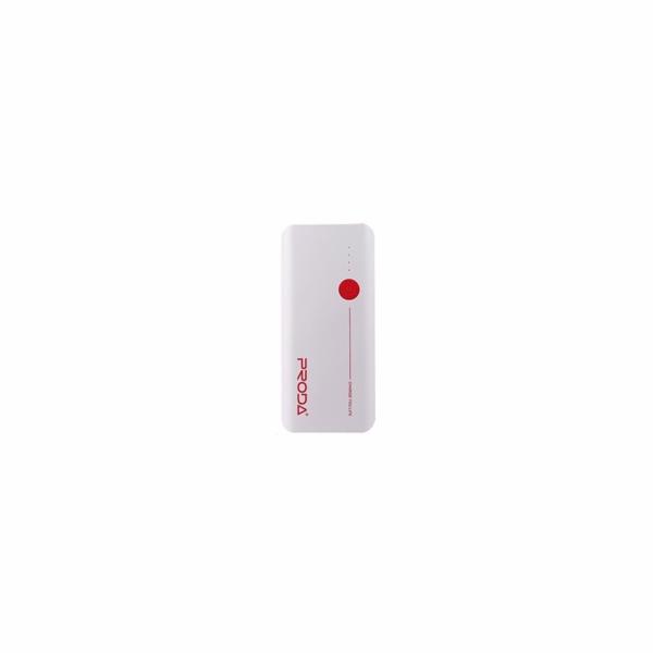 REMAX PowerBank Proda 20000 mAh, bez display, bílo - červená barva EXCLUSIVE
