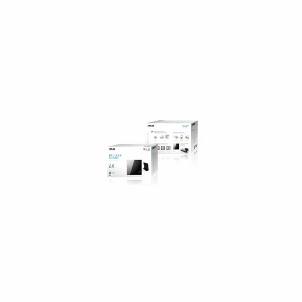 ASUS BLURAY SBC-06D2X-U/BLK/G/AS Combo, External, Retail, černá
