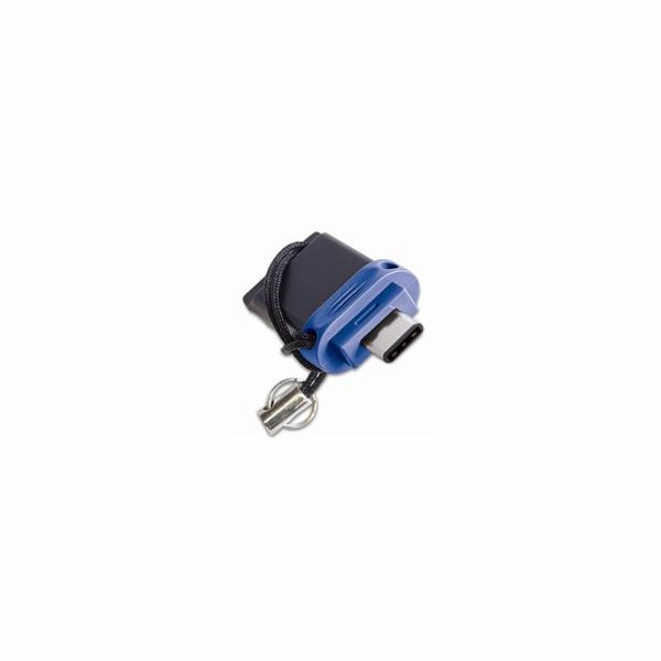 VERBATIM FLASH Store 'n' Go Dual Drive USB 3.0/USB C 64GB blue