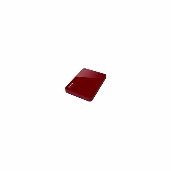"""TOSHIBA HDD CANVIO ADVANCE 2TB, 2,5"""", USB 3.0, červený"""