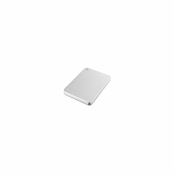 """TOSHIBA HDD CANVIO PREMIUM (new) 1TB, 2,5"""", USB 3.0, metalická stříbrná"""