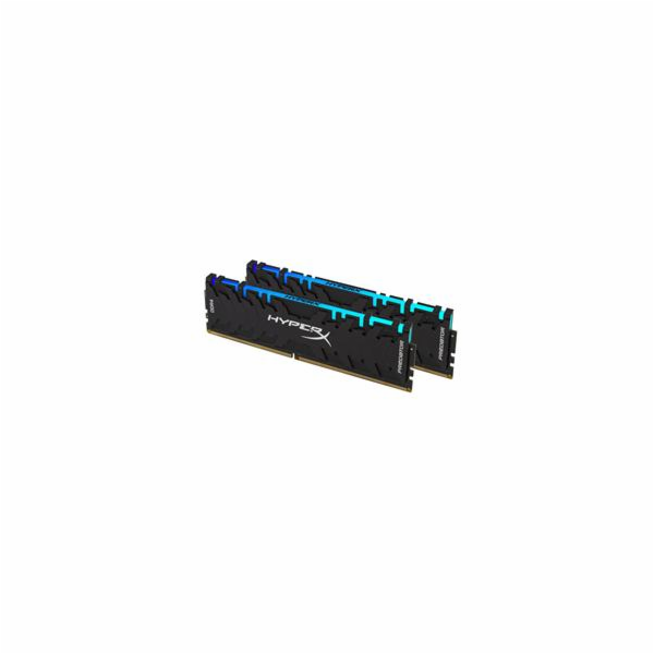 Kingston DDR4 16GB (Kit 2x8GB) HyperX Predator RGB DIMM 3200MHz CL16 černá