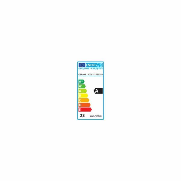 OSRAM zářivka DULUX Twist kompaktní závit 240V 23W 840 E27 noDIM A Sklo matné 1600lm 4000K 10000h (krab. se závěsem 1ks)