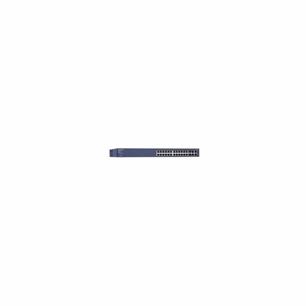 Netgear FS728TP ProSafe 24x 10/100 Smart Switch, 2x SFP/gigabit, 2x gigabit port, full PoE