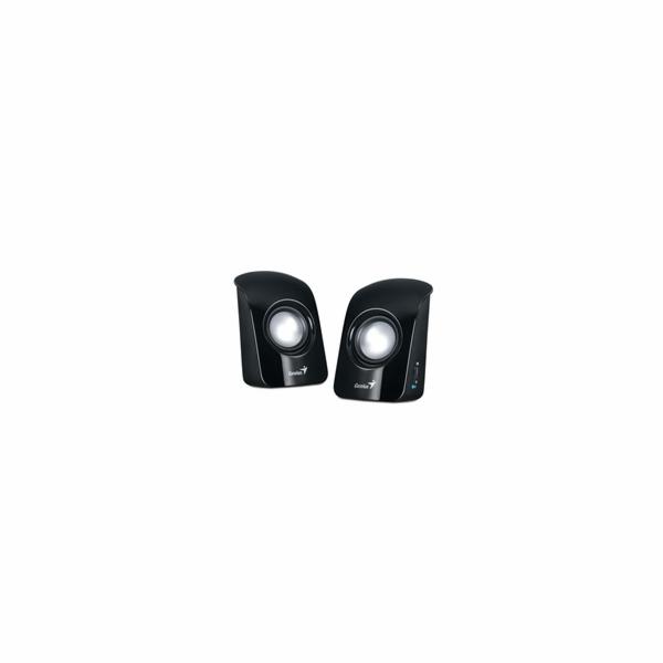 Genius repro SP-U115, přenosné repro, USB napájení, černé