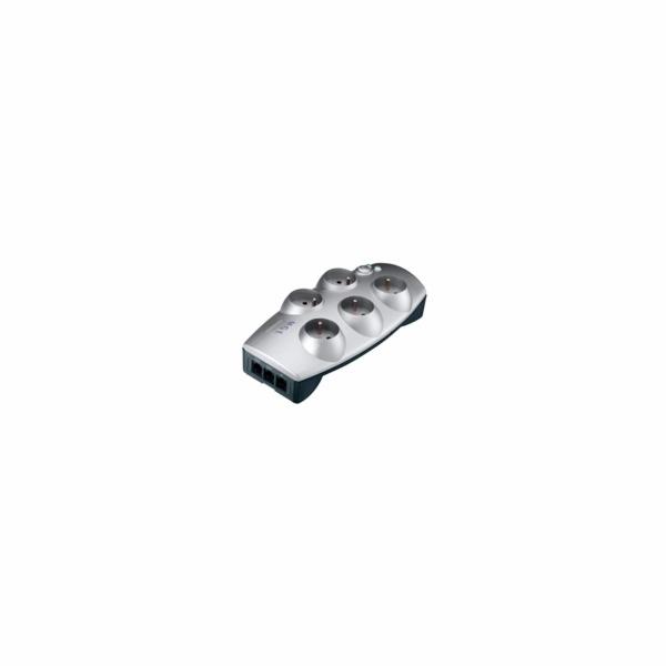 EATON Protection Box 5 Tel FR, přepěťová ochrana, 5 výstupů, zatížení 10A, tel.