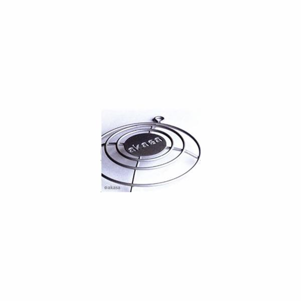 AKASA ochranná mřížka 3D Max Air, pro ventilátory 80mm, stříbrná