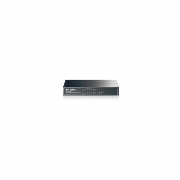 TP-LINK TL-SG1008P 8-port Gigabit Desktop PoE Switch, 8x 10/100/1000M RJ45 ports including 4 PoE ports, kovove puzdro