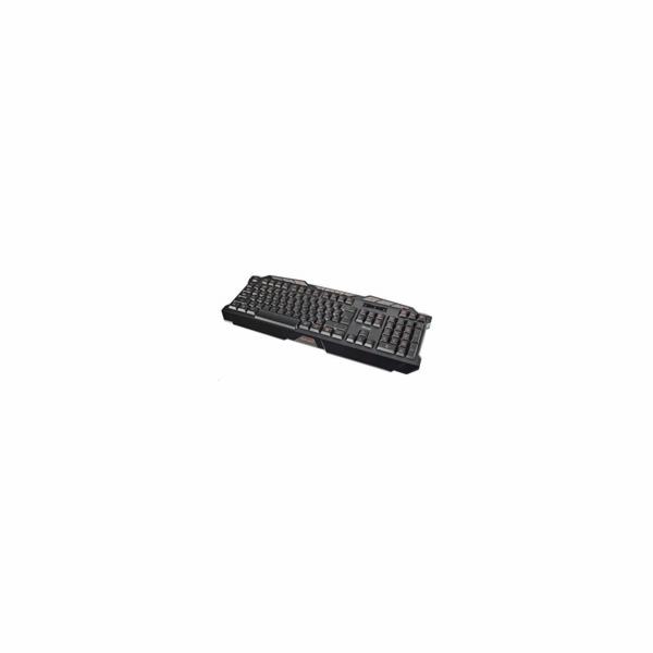 TRUST Klávesnice GXT 280 LED Illuminated Gaming Keyboard, USB, podsvícená