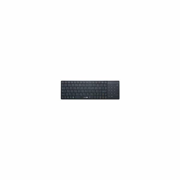CONNECT IT Klávesnice CI-210 USB, bezdrátová s touchpadem, vhodná pro SMART TV