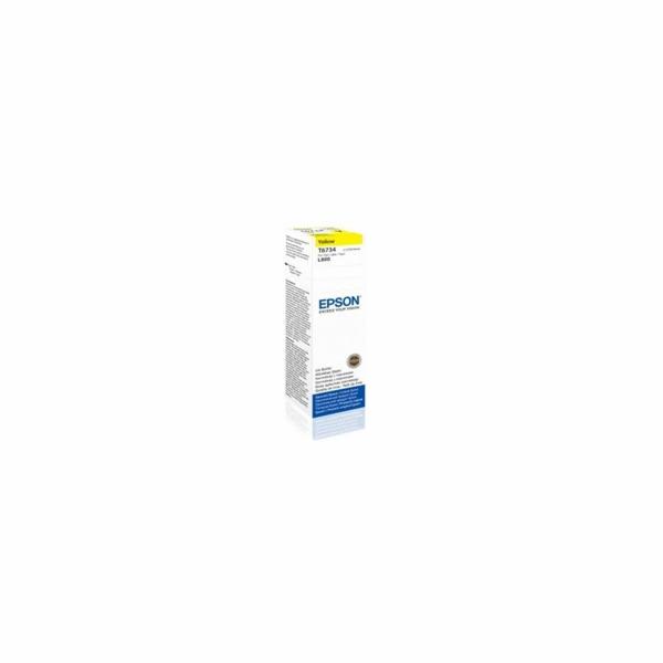 EPSON container T6734 yellow ink (70ml - L800, L805, L810, L850, L1800)