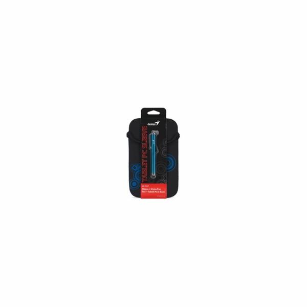 "GENIUS GS-701P, bundle pouzdro na 7"" Tablet PC černé + dotykové pero modré"