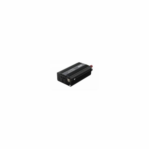 EUROCASE měnič napětí DY-8109-12, AC/DC 12V/230V, 500W, USB