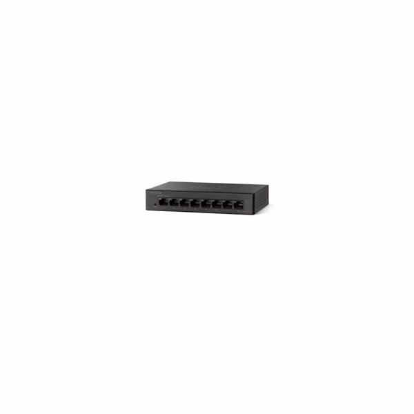 Cisco switch SG110D-08, 8x10/100/1000