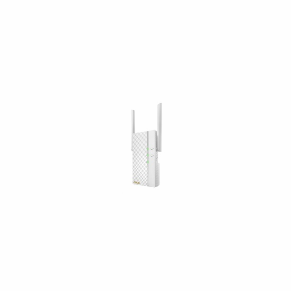 ASUS RP-AC66 Wireless AC1750 Dualband Range Extender, AP/repeater přímo do zásuvky, 1x gigabit RJ45