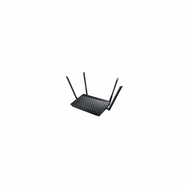 ASUS DSL-AC55U Dual-band Wireless AC1200 VDSL/ADSL Modem Router, 4x gigabit RJ45, 1x USB2.0