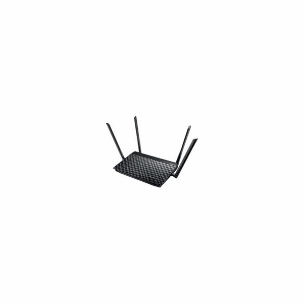 ASUS DSL-AC55U Dual-band Wireless AC1200 VDSL/ADSL Modem Router, 4x gigabit RJ45, 1x USB2.0