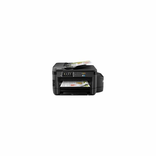 EPSON tiskárna ink L1455, CIS, A3+, 4ink, USB,WI-FI,4v1, ADF,Duplex, multifunkce-3 roky záruka po registraci