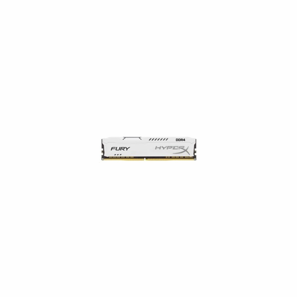 DIMM DDR4 16GB 2400MHz CL15 KINGSTON HyperX FURY White