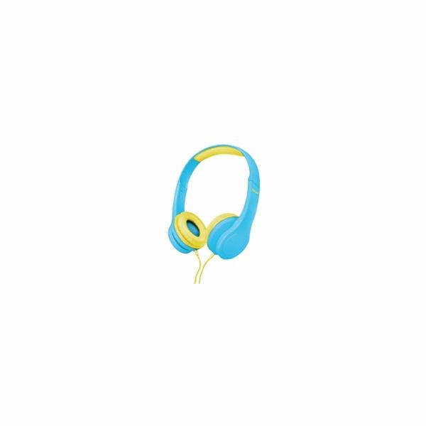 TRUST sluchátka Bino Kids Headphones - blue