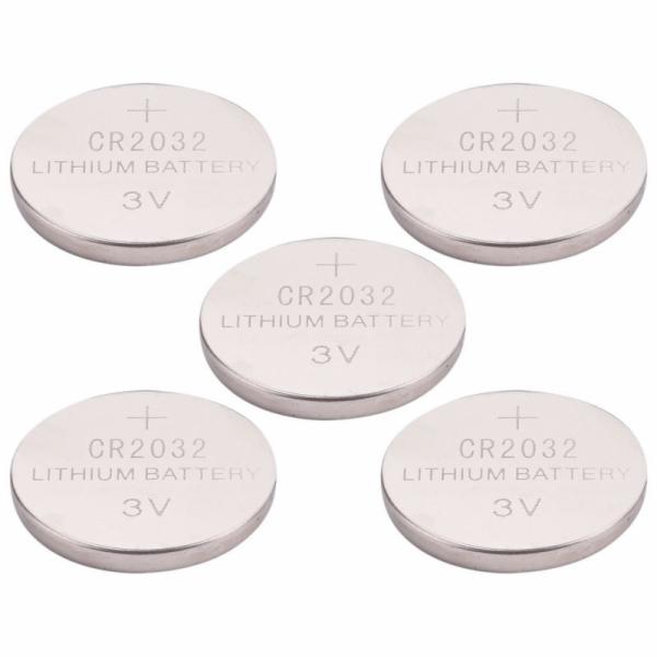 Baterie lithiové, 5ks, 3V (CR2032) EXTOL-LIGHT