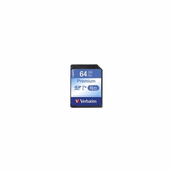 Verbatim SDXC karta 64GB Class 10
