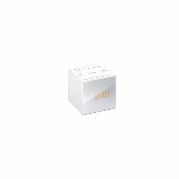 Sony ICF-C1 radiobudík, bílý