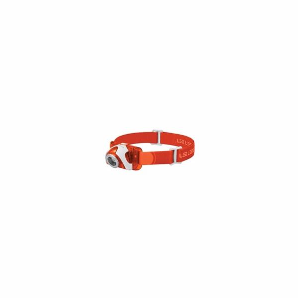 LEDLENSER čelovka SEO 3 - oranžová - Blister