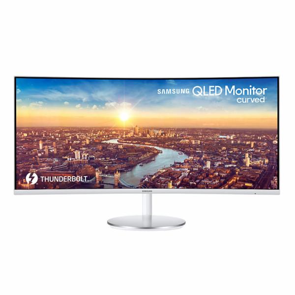 Monitor Samsung LC34J791WTUXEN, 34'', WQHD 21:9, 2x Thunderbolt 3, HUB, DP/HDMI