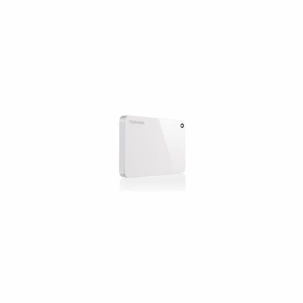 "TOSHIBA HDD CANVIO ADVANCE 2TB, 2,5"", USB 3.0, bílá / white"