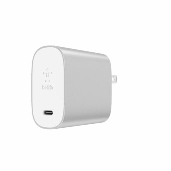 Belkin Charger USB-C 27W USB-A 12W 2-Port si F7U061vf-SLV