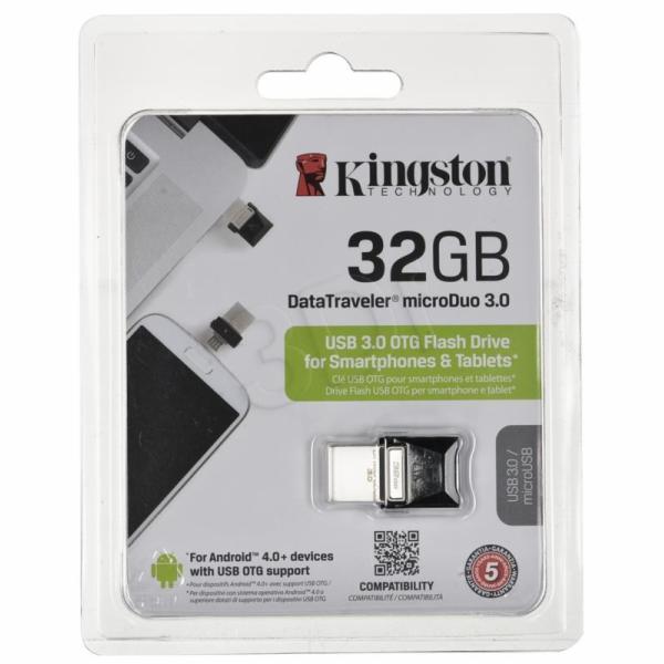 Kingston DataTraveler microDuo 32GB DTDUO3/32GB