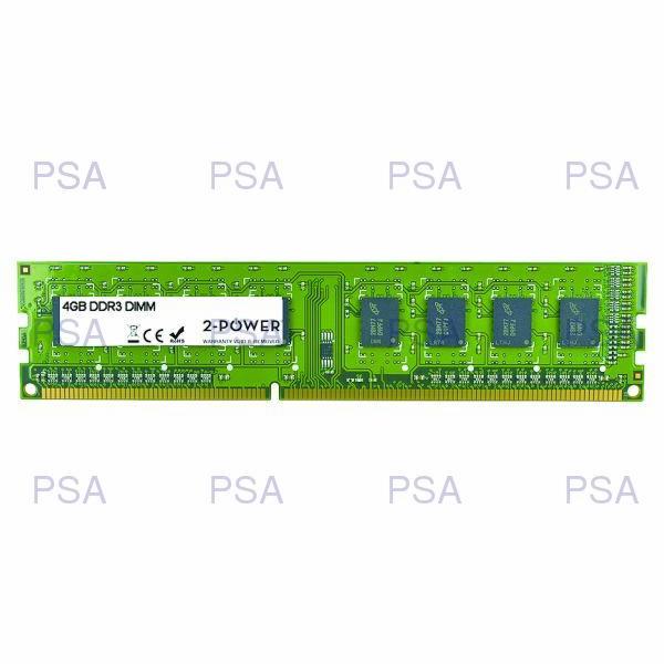2-Power 4GB MultiSpeed 1066/1333/1600 MHz DDR3 Non-ECC DIMM 2Rx8( DOŽIVOTNÍ ZÁRUKA )
