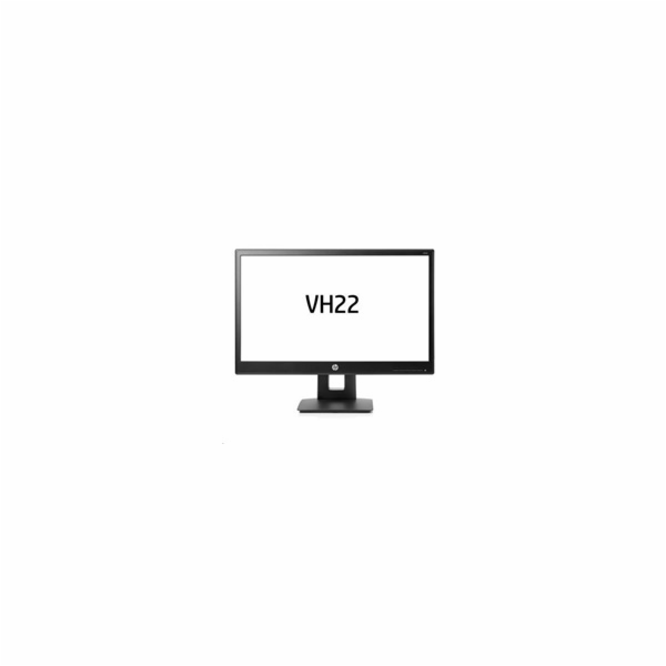 HP VH22, 21.5 TN/LED, 1920x1080 FHD, 1000:1, 5ms, 250cd, VGA/DVI-D/DP, PIVOT