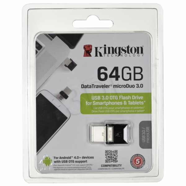 Kingston DataTraveler microDuo 64GB DTDUO3/64GB